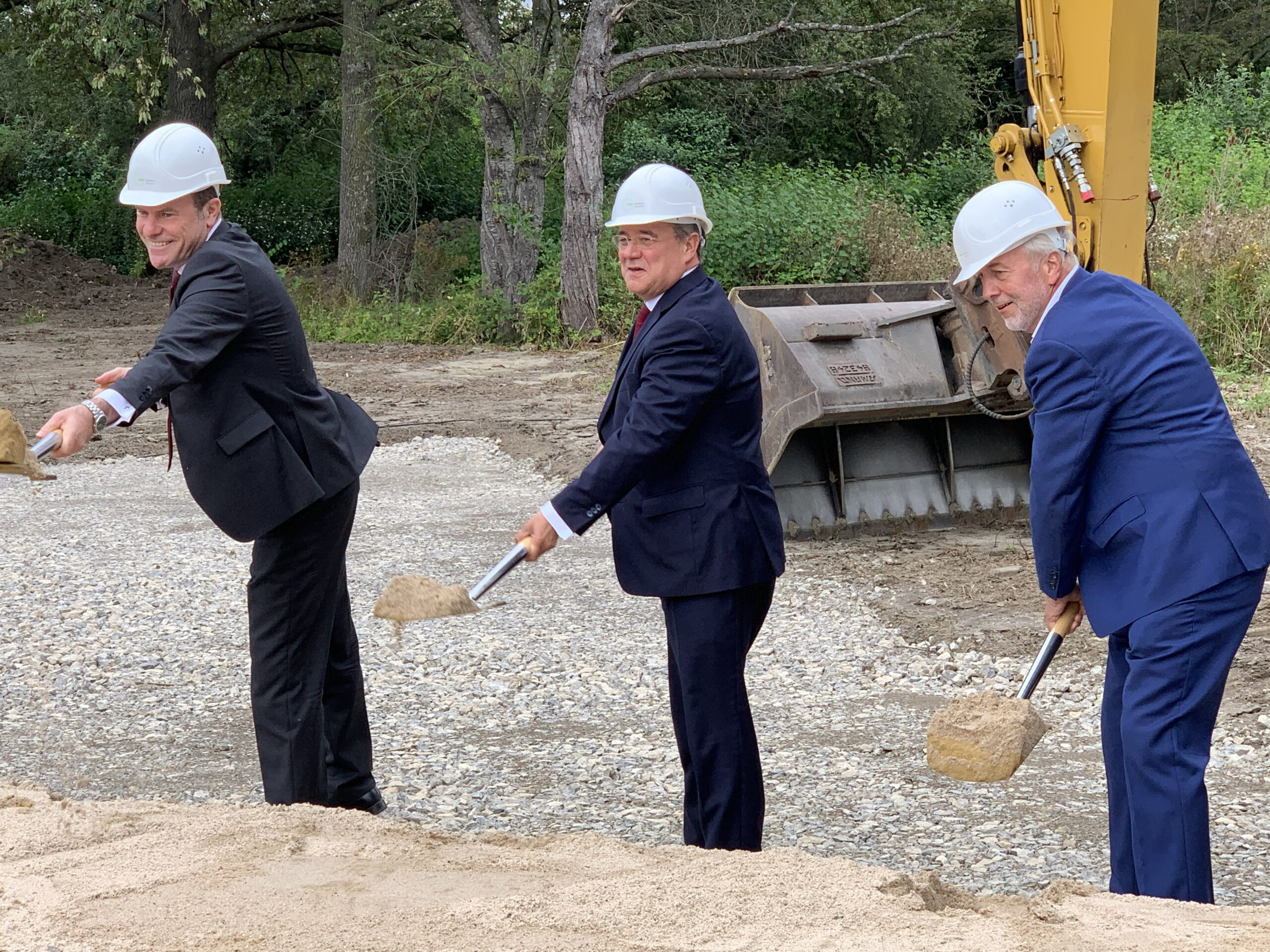 Baubeginn beim EUREF-Campus Düsseldorf